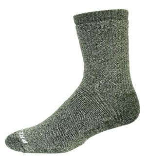 Prevail alpaca crew sock sage
