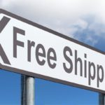 Free Shipping Road Sign